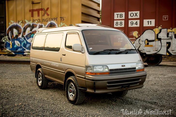 Toyota Hiace Super Custom Limited