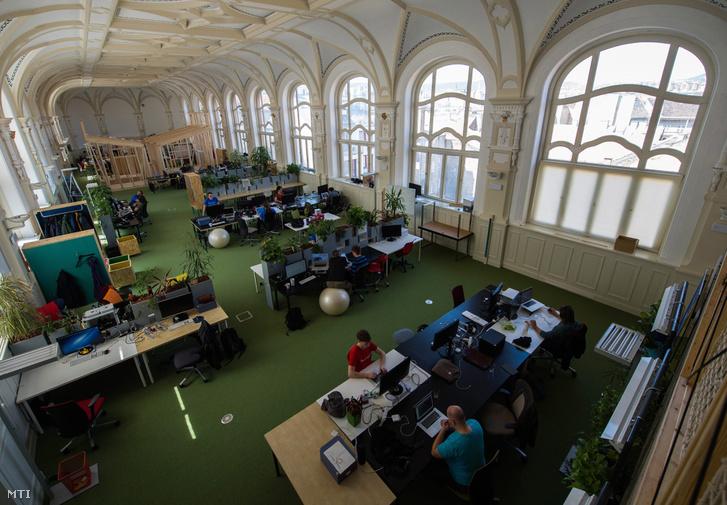 A Prezi budapesti irodája.