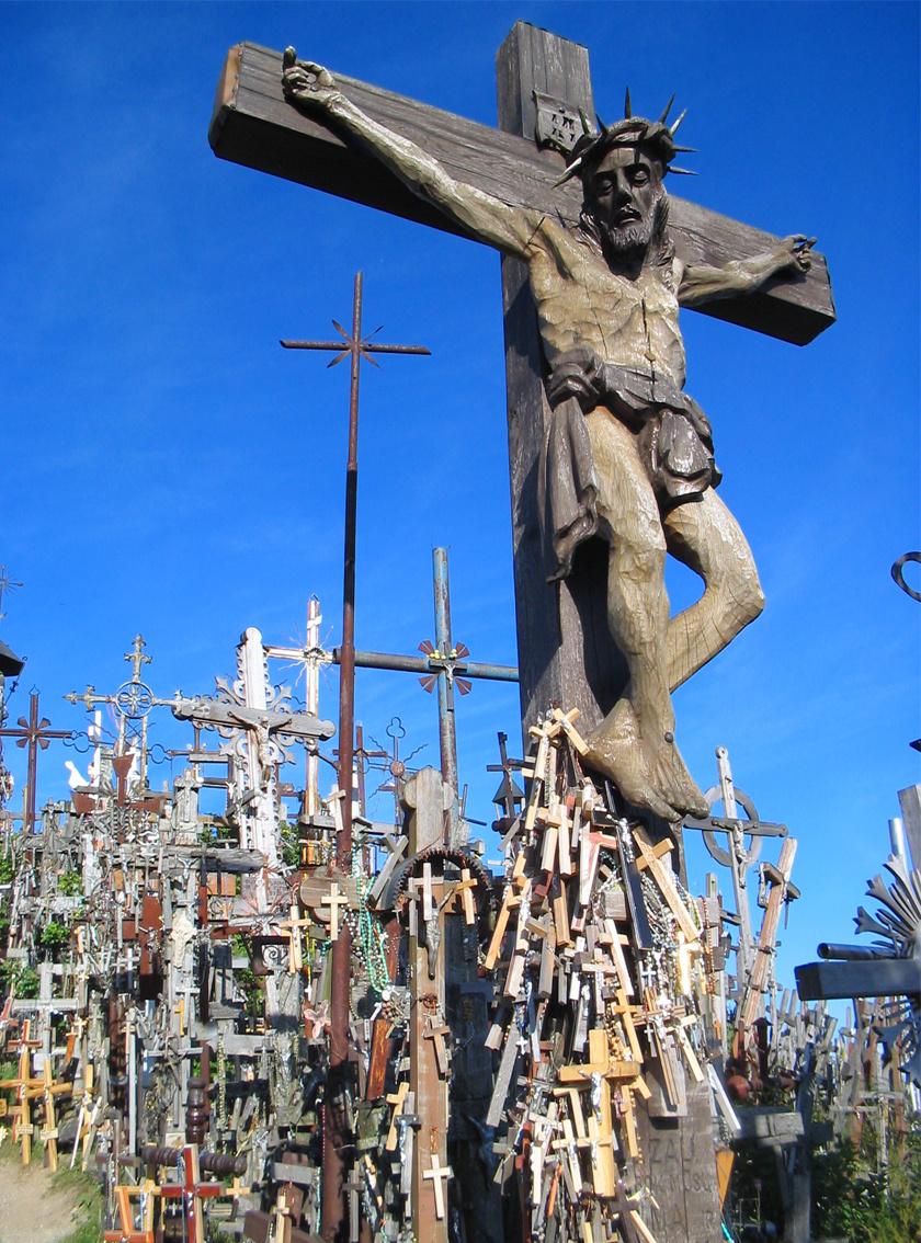 A Keresztek dombja Litvánia egyik legjelentősebb nemzeti szimbóluma, mely egyúttal fontos zarándokhely is.