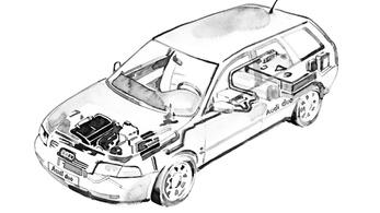 Az Audi Duo három generációja