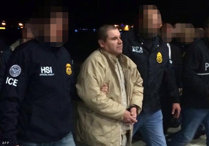 El Chapo 2017 januárjában