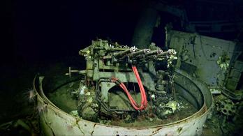 Megtalálták a 77 éve eltűnt USS Hornet roncsait
