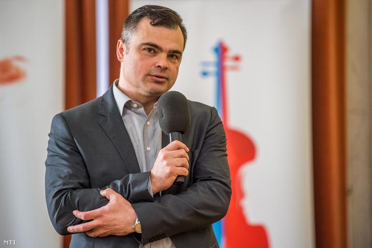 Vaszily Miklós 2018 áprilisában az MTVA vezérigazgatójaként