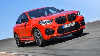 Ötszáz lóerő felett a BMW X3 és X4