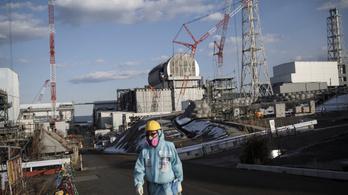 Fukusimában megpiszkálták az olvadt fűtőanyagot