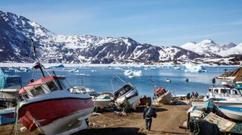 Máris a profitot nézik a grönlandi jég olvadásában