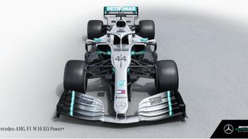Furcsa oldalszárny az új F1-Mercin