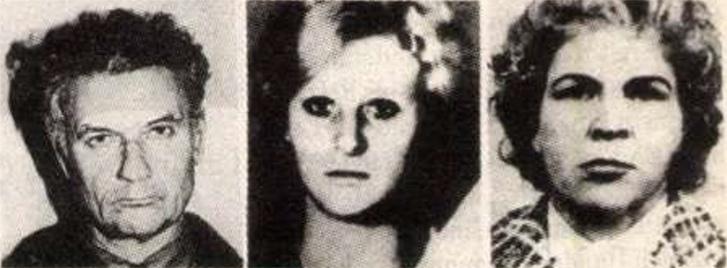 Csikatilo és két áldozata az ötvenkettőből. Forrás: Magyarország 1993. január 1. száma / Arcanum Adatbázis