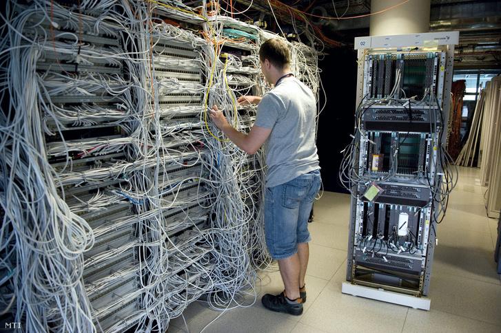 Egy informatikus az Ericsson Magyarország Kutató-Fejlesztő Központjában