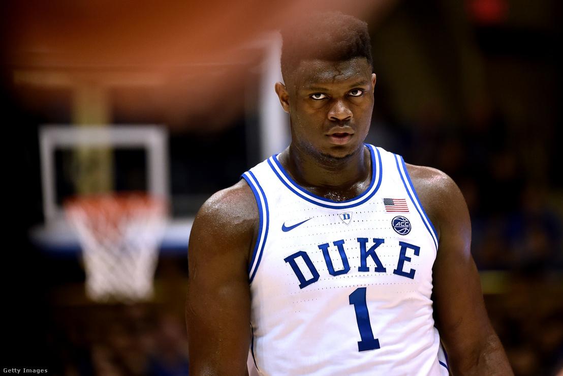 Zion Williamson, a Duke Blue Devils játékosa