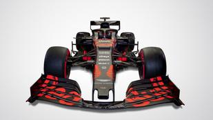 Káprázatos tesztautót mutatott be az F1-es Red Bull