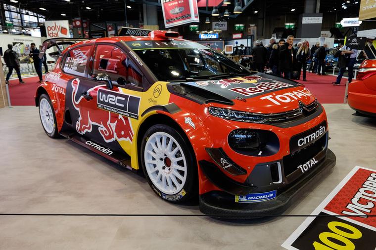 Még jó, hogy kiállították az új C3 WRC-autót is...