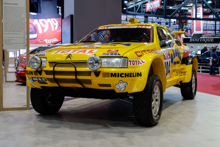 Ezek a ZX Rallye Raid autók voltak a kilencvenes évek legjobb tereprali-kocsijai, 42-ből 36 győzelmet aratva 1990-97 között