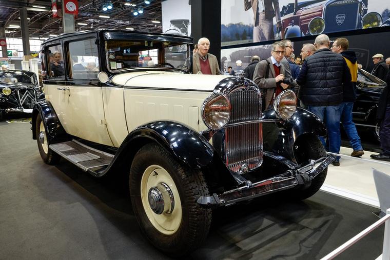 C6 G, a Citroen első hathengeres nagykocsija 1928-ból