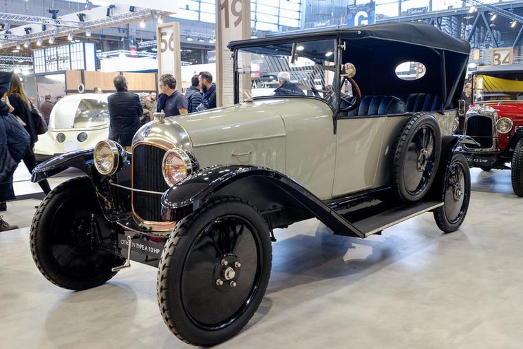André Citroen 1919-ben a Type A 10HP-vel kezdte a termelést