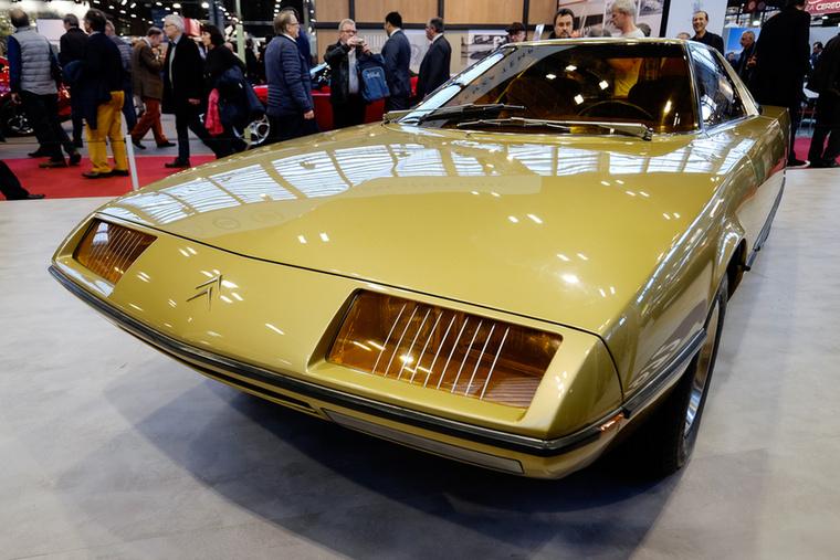 Amikor a Citroen és a Bertone először működtek együtt 1972-ben, csoda született - a Camargue