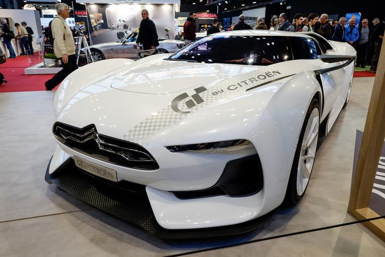 2008-ban minden a virtuális valóság és a videokonzolok körül forgott, a Citroen is a Gran Turismo-játék (már az 5