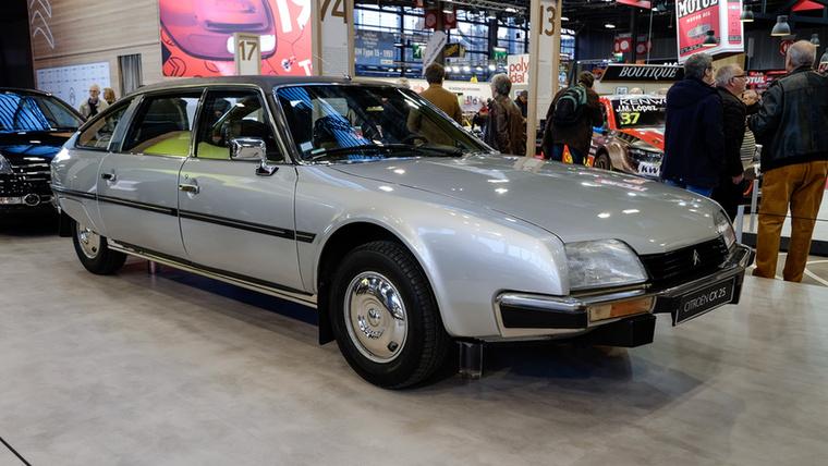 Az utolsó Peugeot-átvétel előtti Citroen, az 1974-es CX egy korai példánya