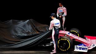 Leleplezték a 2019-es Racing Point-Mercedest