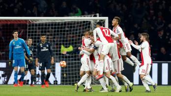 Az Ajaxtól vont vissza először gólt a videóbíró a BL-ben