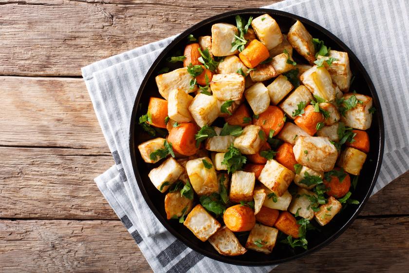 Karcsúsító zeller répával sütve: ezt edd krumpli helyett diéta alatt