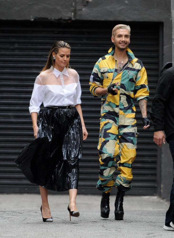 Hadd jegyezzük itt meg, hogy ezt a két Kaulitz-testvért aztán, hiába ikrek, nem lehet összetéveszteni.