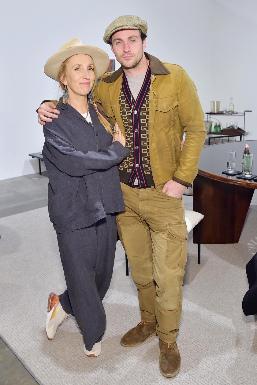 Tegnap Annie Leibovitz kiállításmegnyitóján kapták őket lencsevégre.