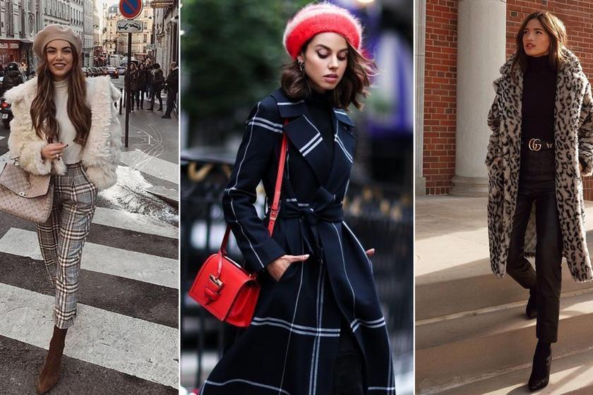 A sok ruha ellenére is sikkesek maradnak a párizsi nők - Hogy csinálják, hogy télen is ilyen nőiesek?
