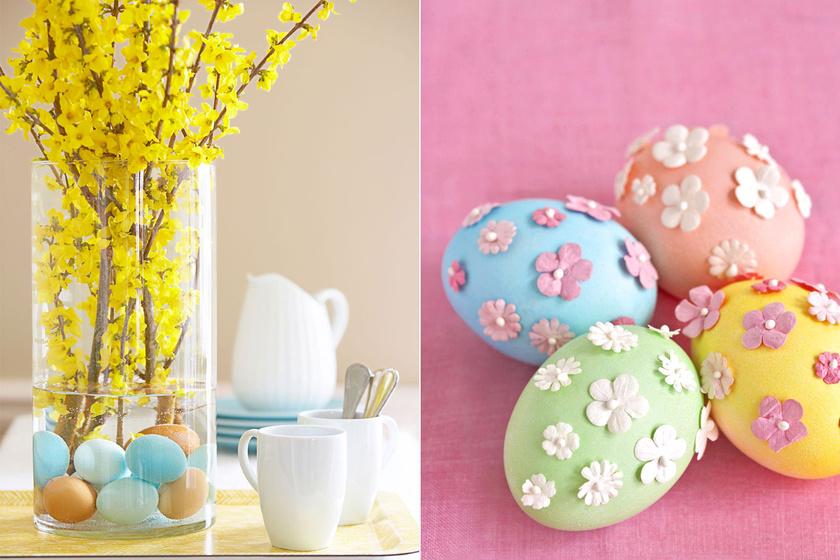 Gyönyörű húsvéti dekorációk 4 hozzávalóból: látványosak, mégis egyszerűek