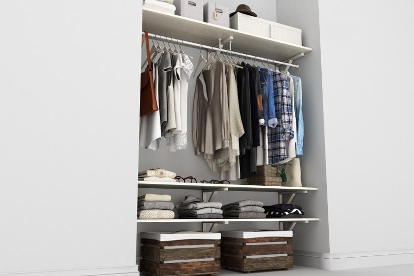 Rendezett, 4 évszakos ruhásszekrény: így selejtezd ki a régi göncöket a gardróbodból