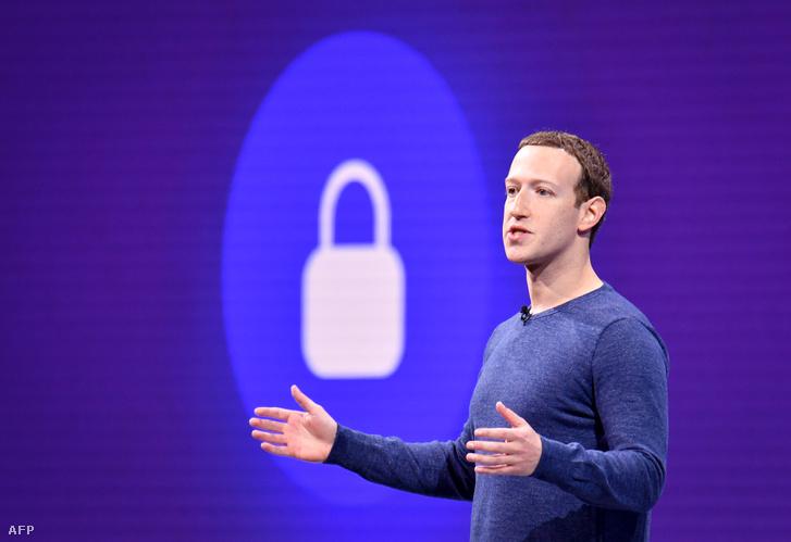 Mark Zuckerberg a Facebook alapítója
