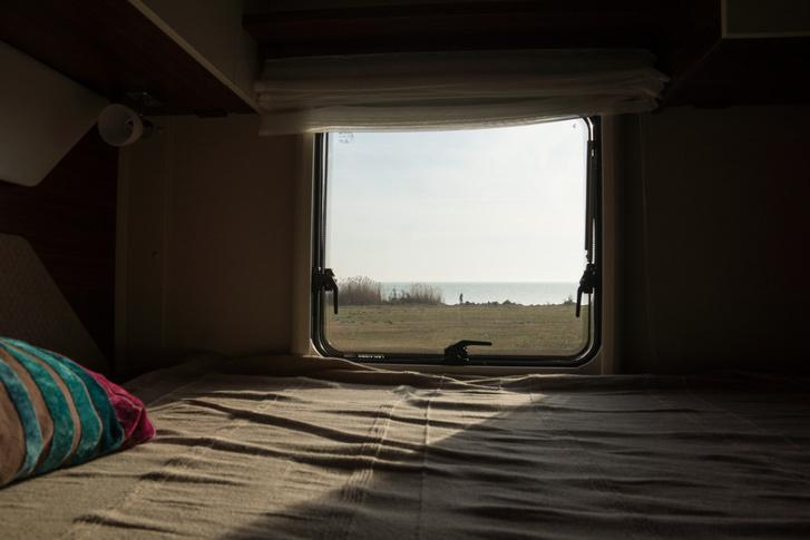 Kilátás a hátsó ágyból
