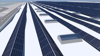 A győri Audi-gyár tetején épül Európa legnagyobb tetős napelemparkja