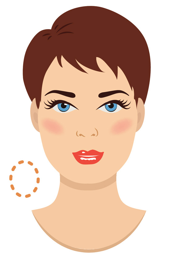Ovális arcformához az enyhén íves szemöldök illik a legjobban: természetes hatást kelt, és nyitottabbá teszi a tekintetet.