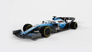 Csak megmutatta a Williams is 2019-es F1-kocsiját