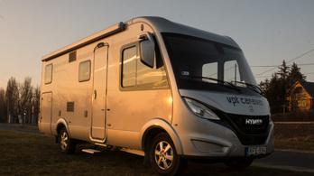 Teszt: Hymermobil B-Klasse Modern Comfort I 580 – 2019.