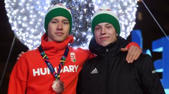 Két-két magyar arany és bronz a téli európai ifi olimpia zárónapján