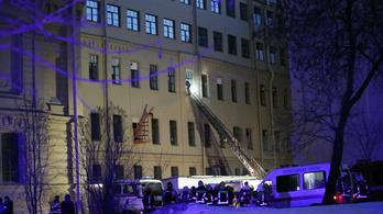 Összedőlt egy egyetem több emelete Szentpéterváron