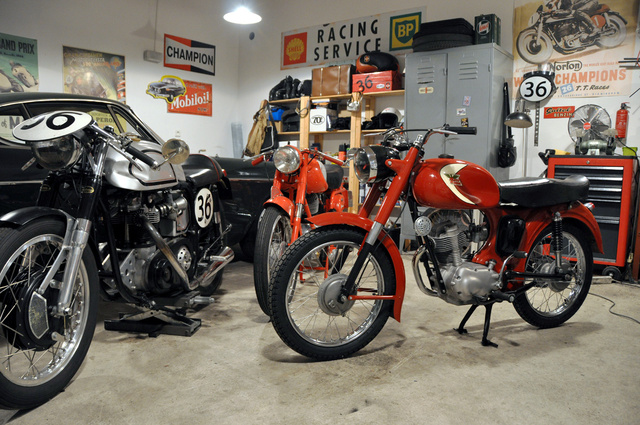 Triton, Gilera, Morini. Say hello to each other