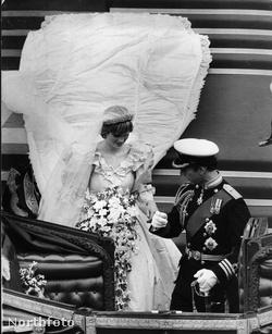 Diana és Károly esküvője