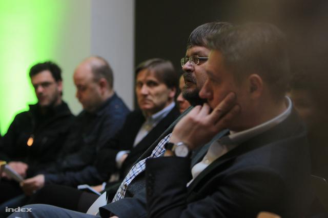 Gulyás Gábor, a Műcsarnok vezetője