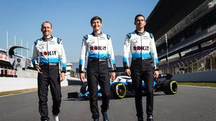 Nem lesz kész az F1-teszt rajtjára a Williams