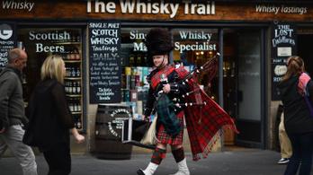 Rekordot döntött tavaly a skót whisky exportja