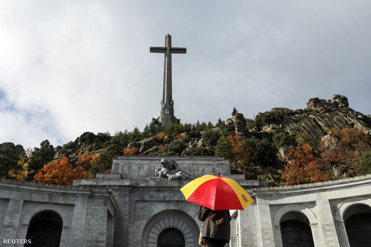 Franco mauzóleuma az Elesettek Völgyében