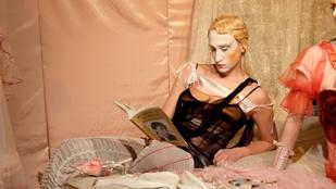 Olvastak a modellek egy magyar tervező londoni divatbemutatóján