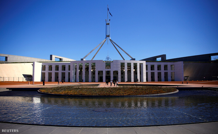 Az Ausztrál Parlament épülete Canberra-ban