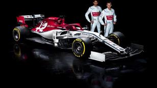Bemutatták Räikkönen Alfáját is, indul az F1-teszt