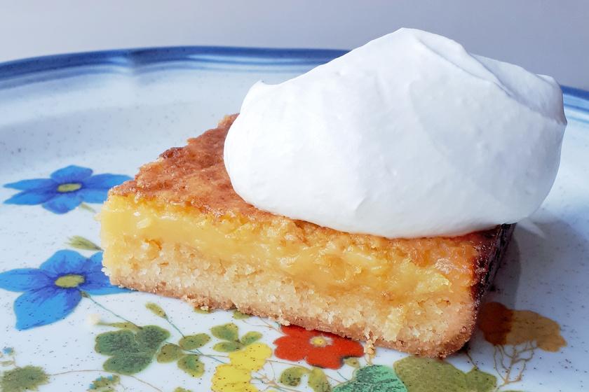 Egész citromos szelet: gyors és ínycsiklandó finomság