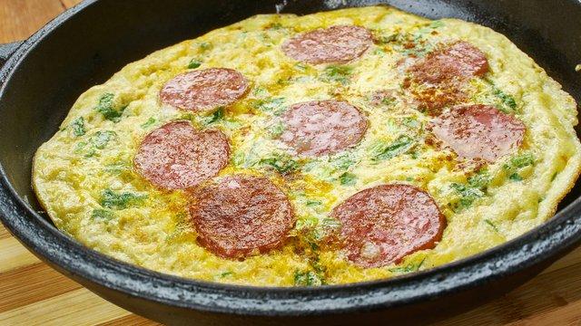 Létezik olyan pizza, ami nem hizlal? Igen, ha tojásból van