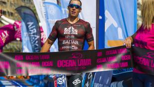 Magyar győztese lett a tenerifei Ocean Lava triatlonnak